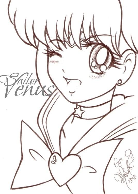 Smile Sailor Venus by manuelquetz on DeviantArt