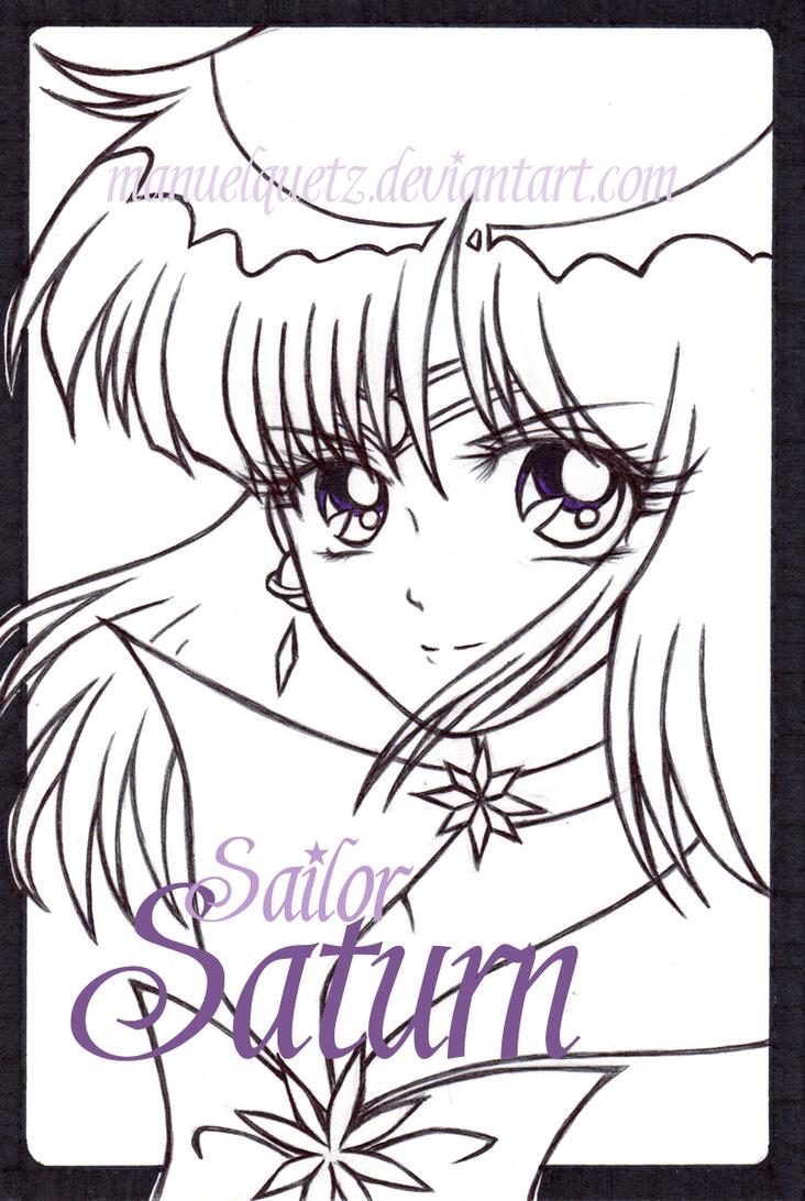 Sailor Saturn by manuelquetz