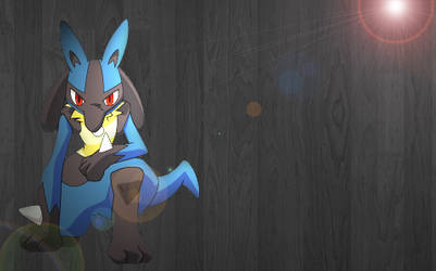 Lucario Lighting Concept by DragonSoulSong