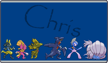 Chris Trainer Card Back