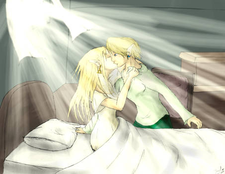 Zelda X Link by Rinny09