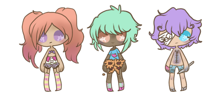 pastel gore adopts by - photo #5