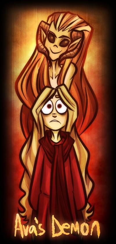 Ava's Demon by RubyRedux