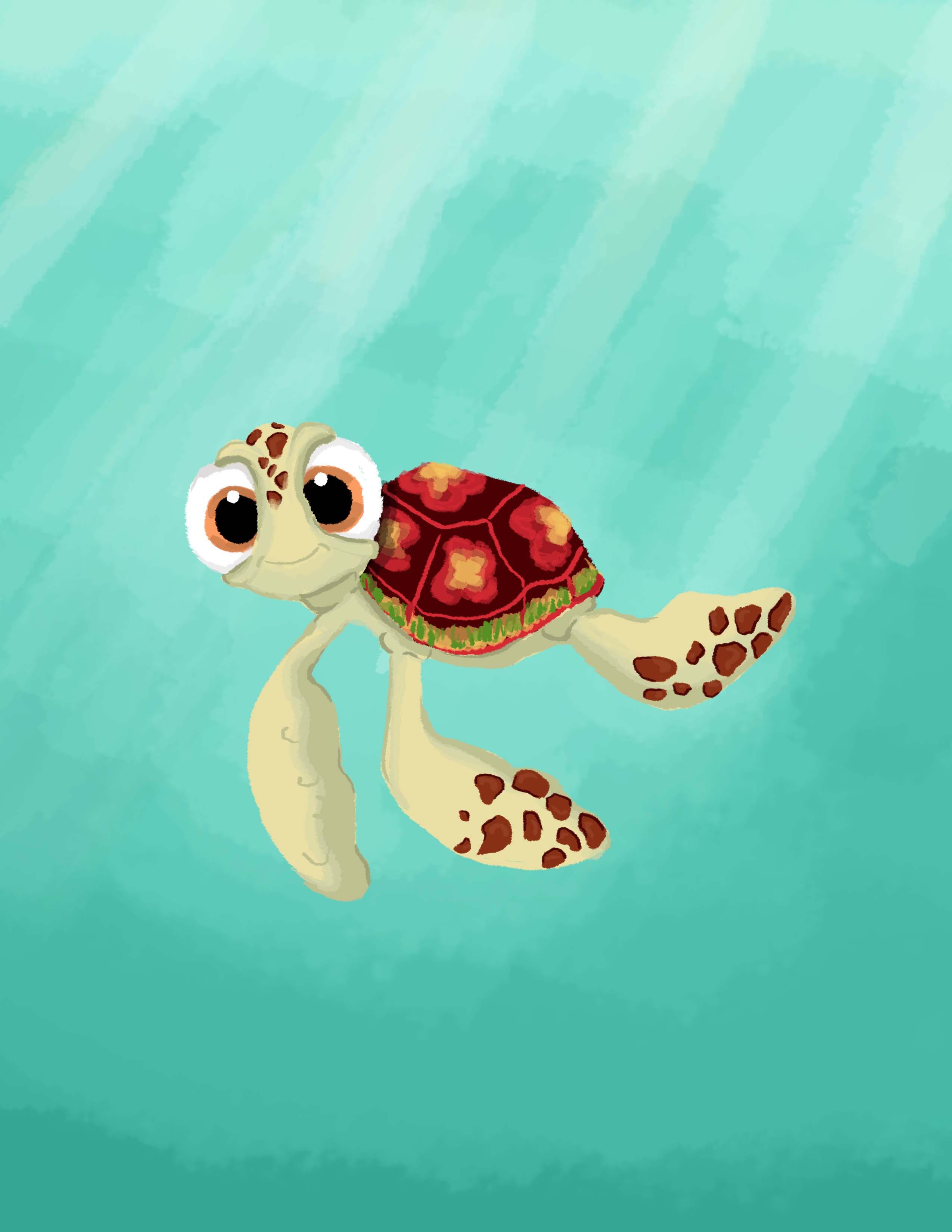 Nemo Cute Turtle Wallpaper Wwwmiifotoscom