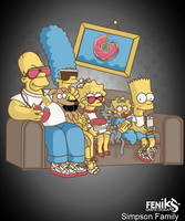The family Simpsons Fashion by hosmane