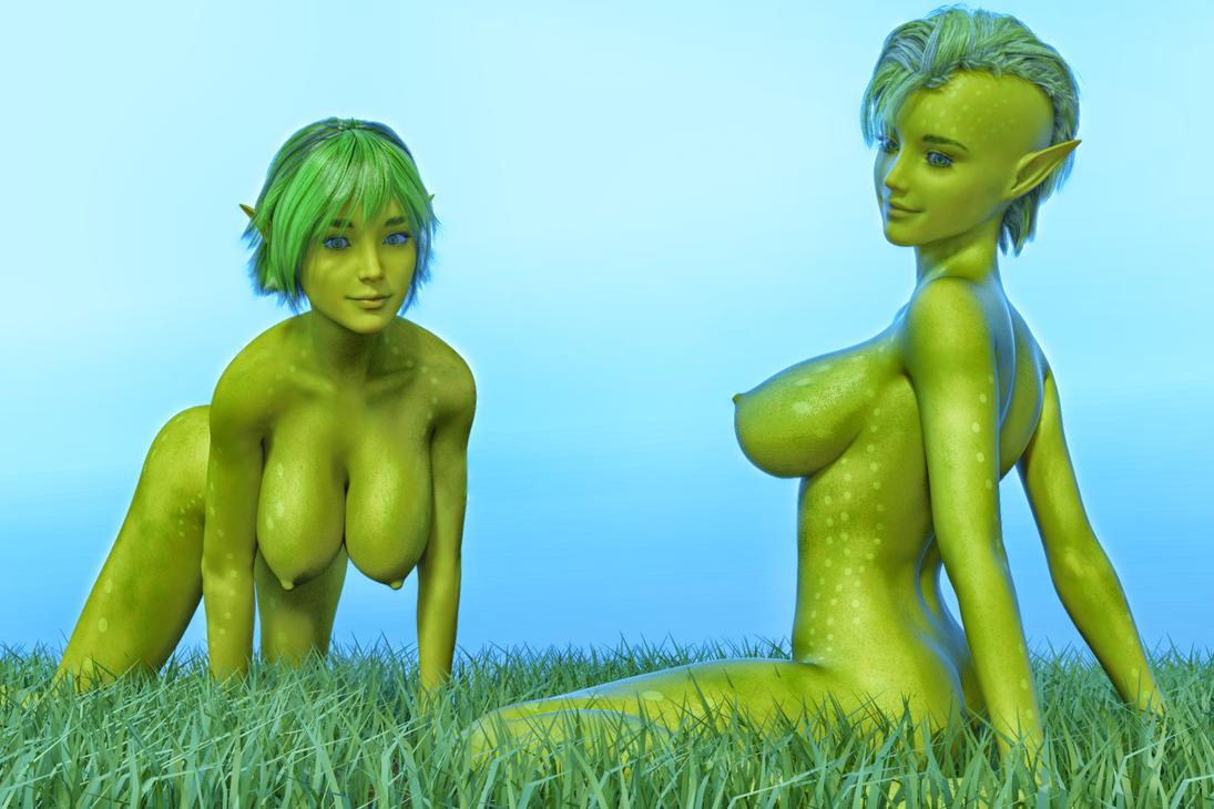 Grass Dryads by FollyFool