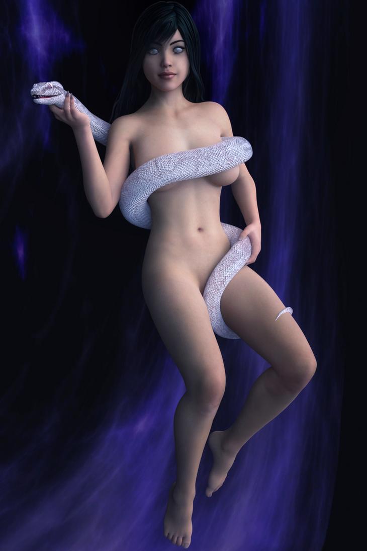 Snake Lady by FollyFool