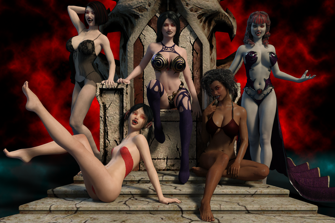 Vampire Harem by FollyFool