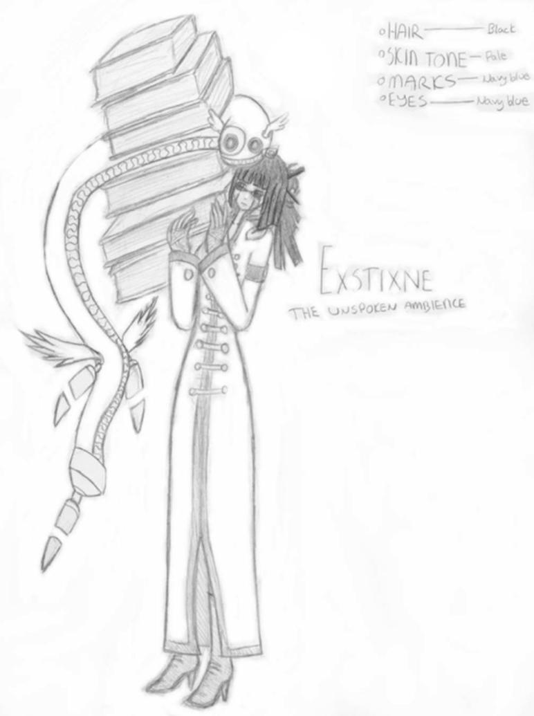 Exstixne by Fire-and-ice333