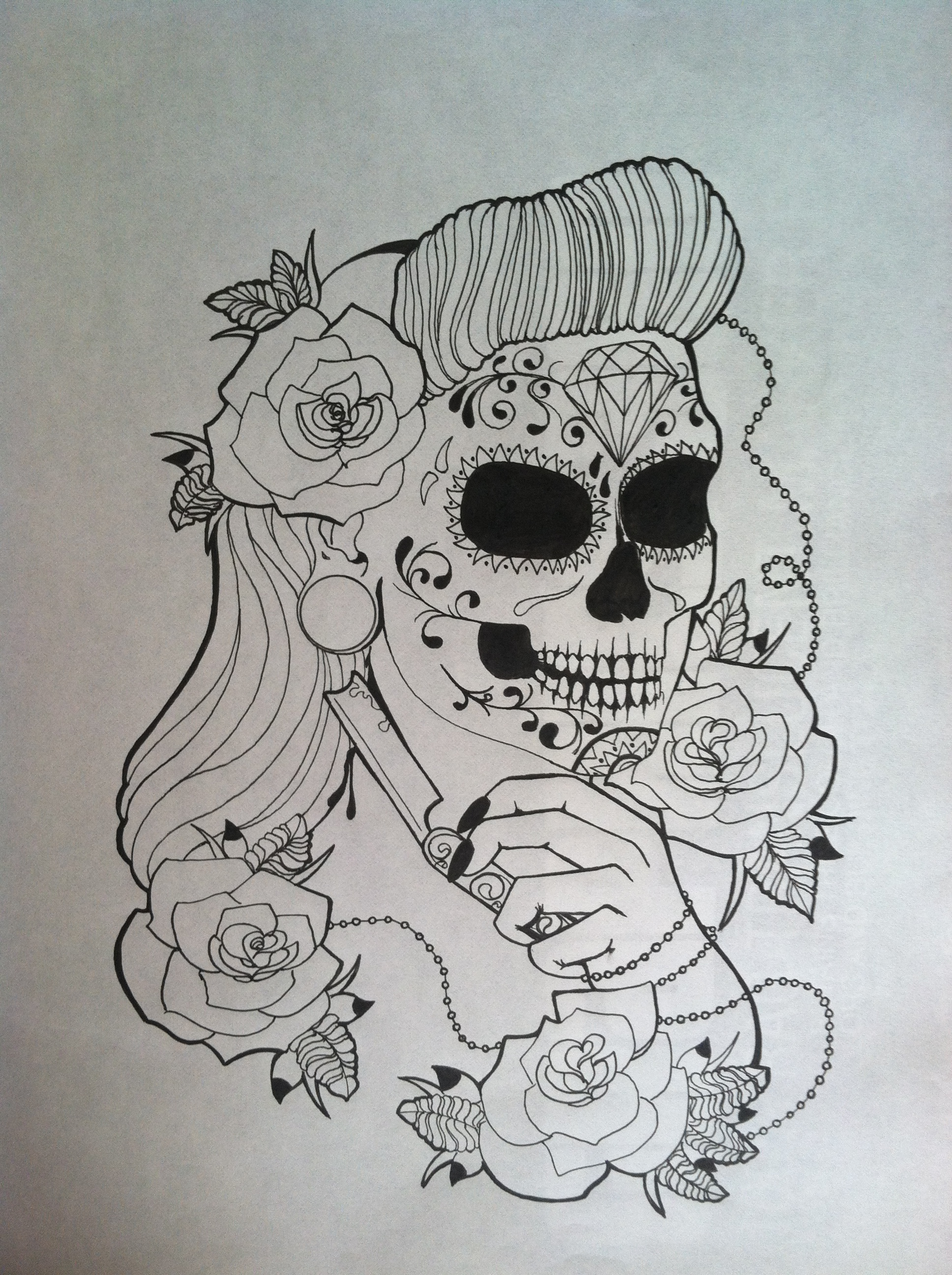 Sugar skull girl hentai hentia scene