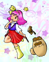 Mahou no princess Minky Momo by eoyi