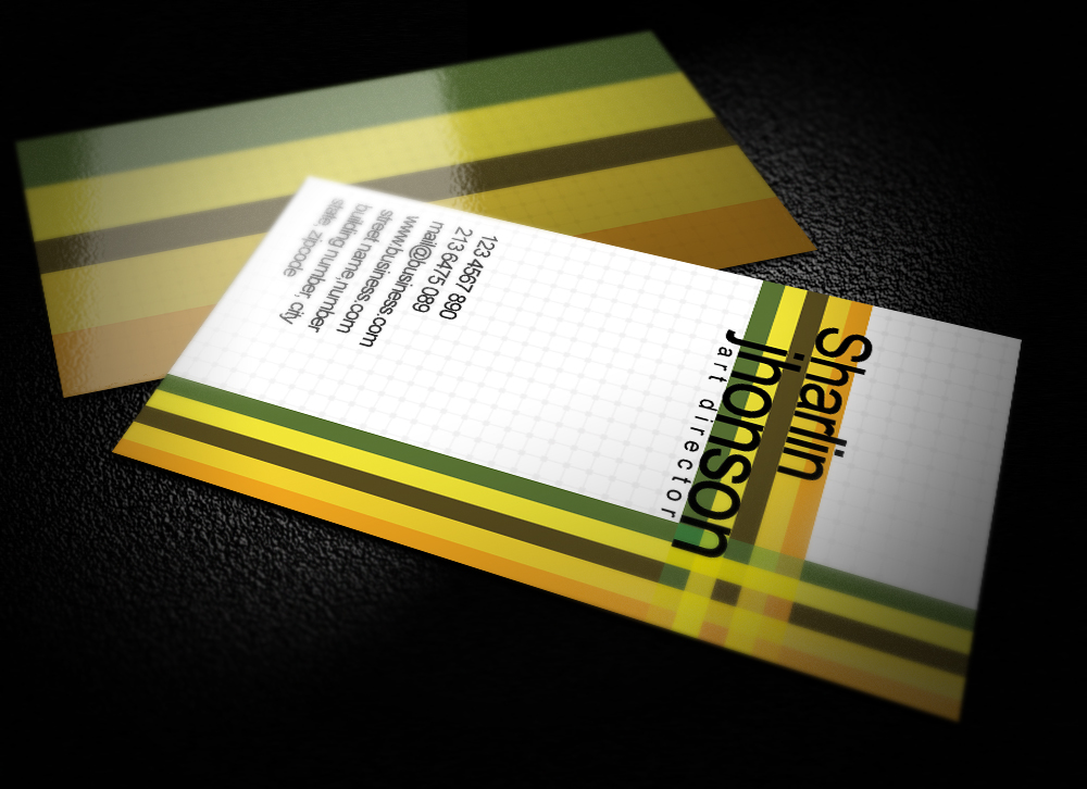Professional Business Card by graphcoder on DeviantArt