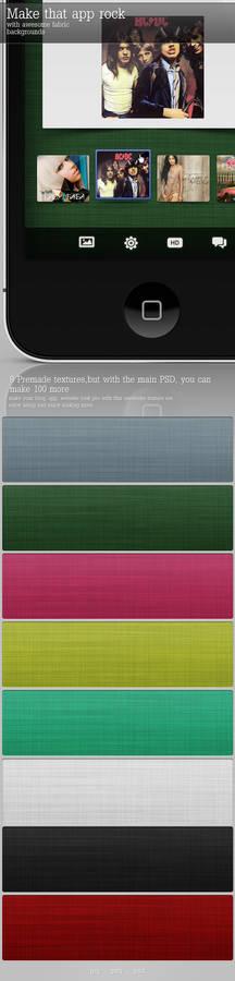 Fabric Textures PSD