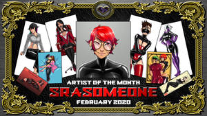 Artist of the Month, February 2020 - SRASOMEONE by X--DoubleHeart--X