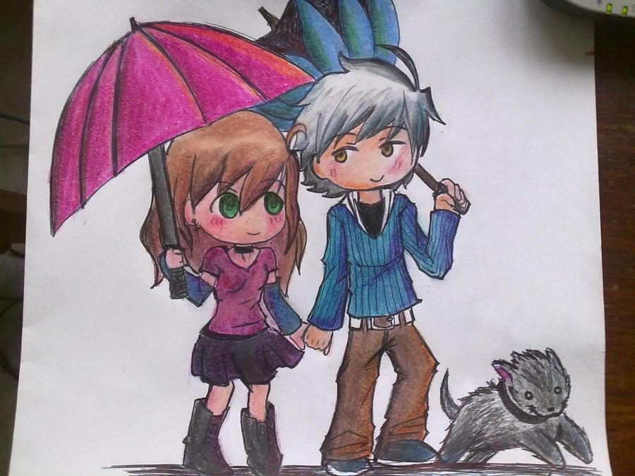 Down the rain by Thoyito