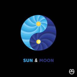 Sun and Moon by agrumpyfrog