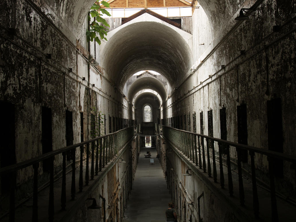 Eastern State Penitentiary 4 by Dracoart-Stock