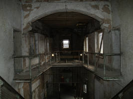 Eastern State Penitentiary 7 by Dracoart-Stock