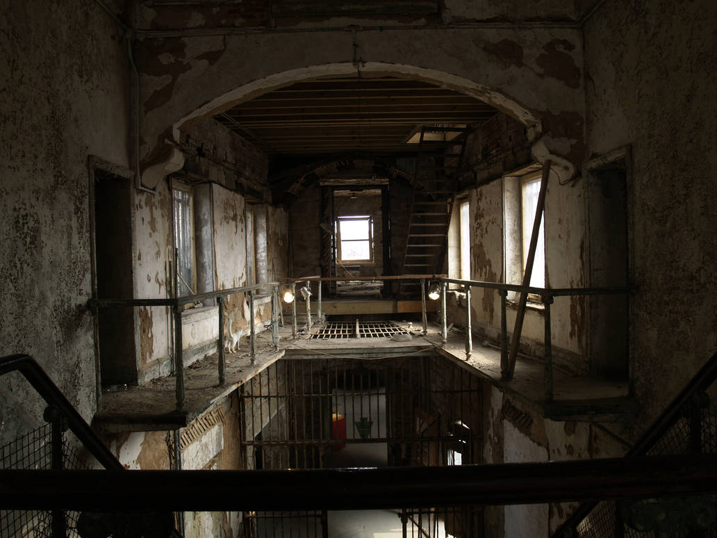 Eastern State Penitentiary 8 by Dracoart-Stock