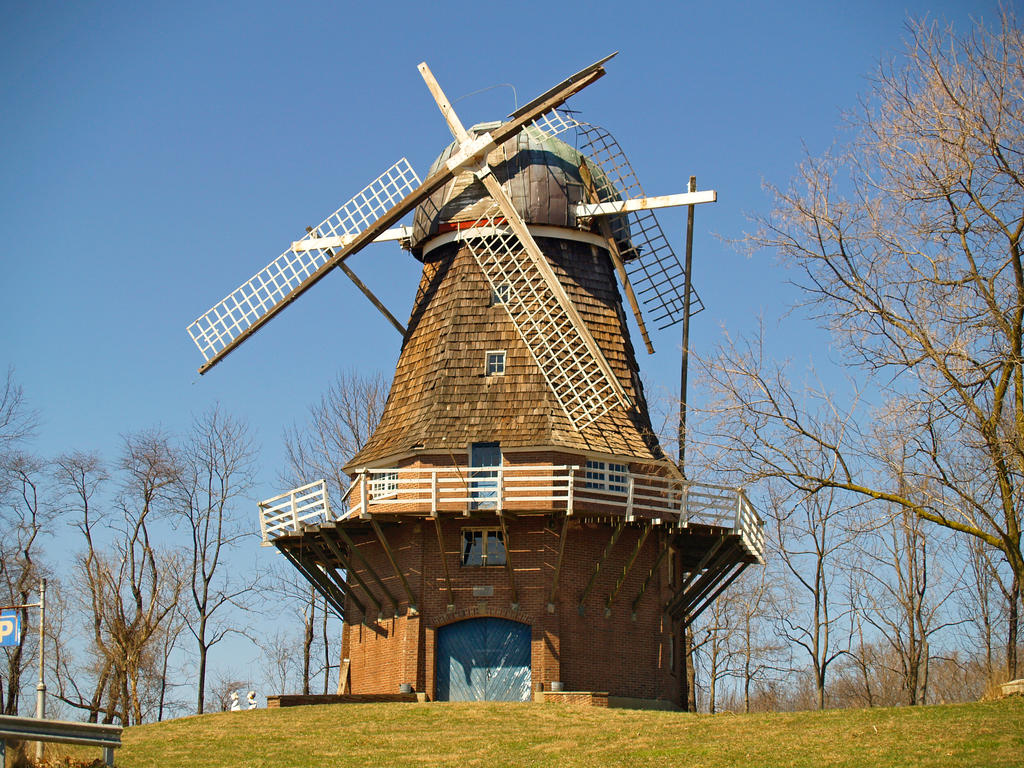 Windmill 2 by Dracoart-Stock