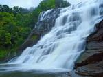 Ithaca Falls 5 by Dracoart-Stock