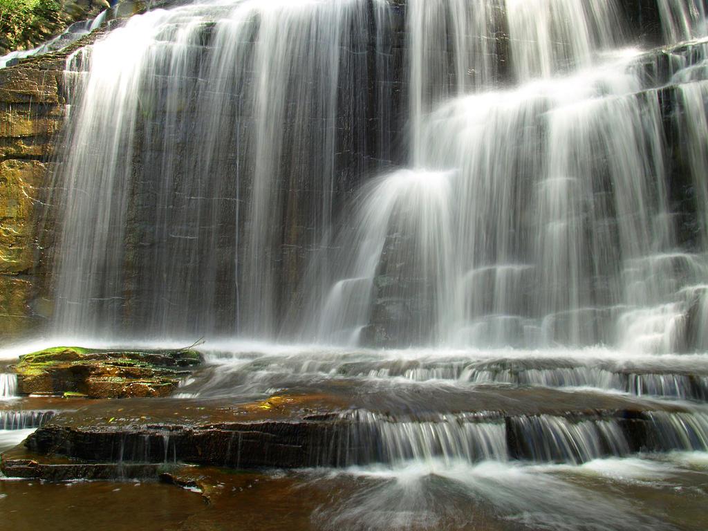 Cascadilla Gorge Falls 23 by Dracoart-Stock