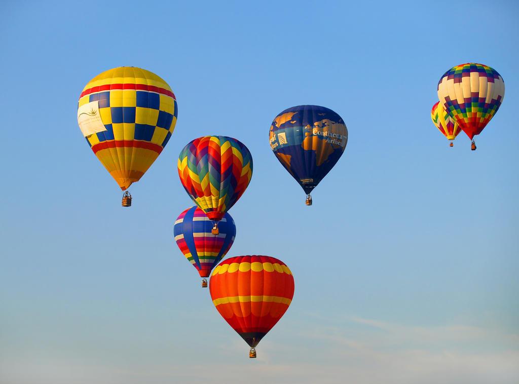 Balloon Festival 29 by Dracoart-Stock
