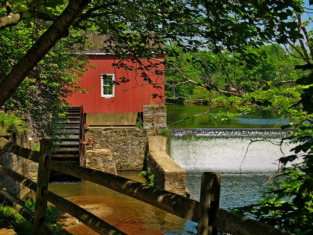Red Mill 5 by Dracoart-Stock