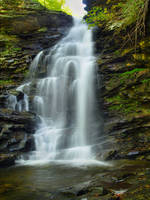 Ricketts Glen State Park 28 by Dracoart-Stock
