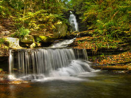 Ricketts Glen State Park 33 by Dracoart-Stock