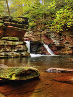 Ricketts Glen State Park 103 by Dracoart-Stock