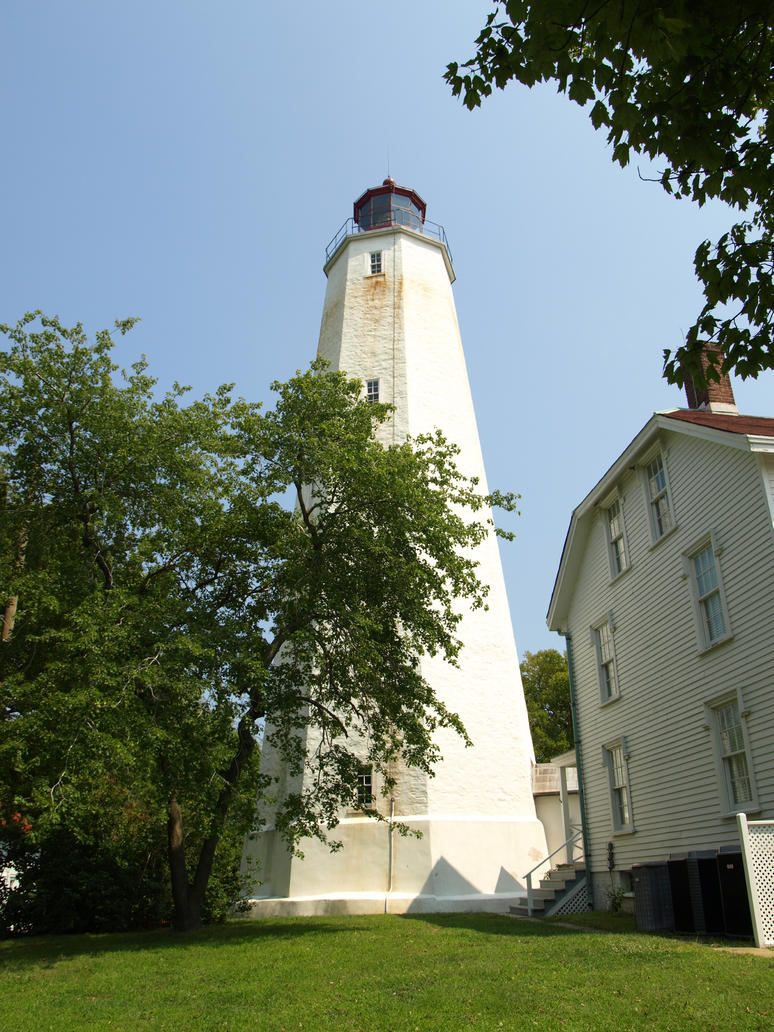 Sandy Hook Light 4 by Dracoart-Stock