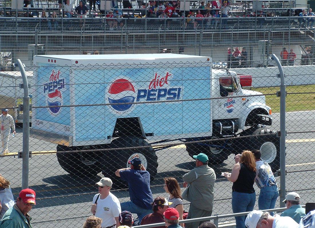 Diet Pepsi Monster Truck by Dracoart-Stock