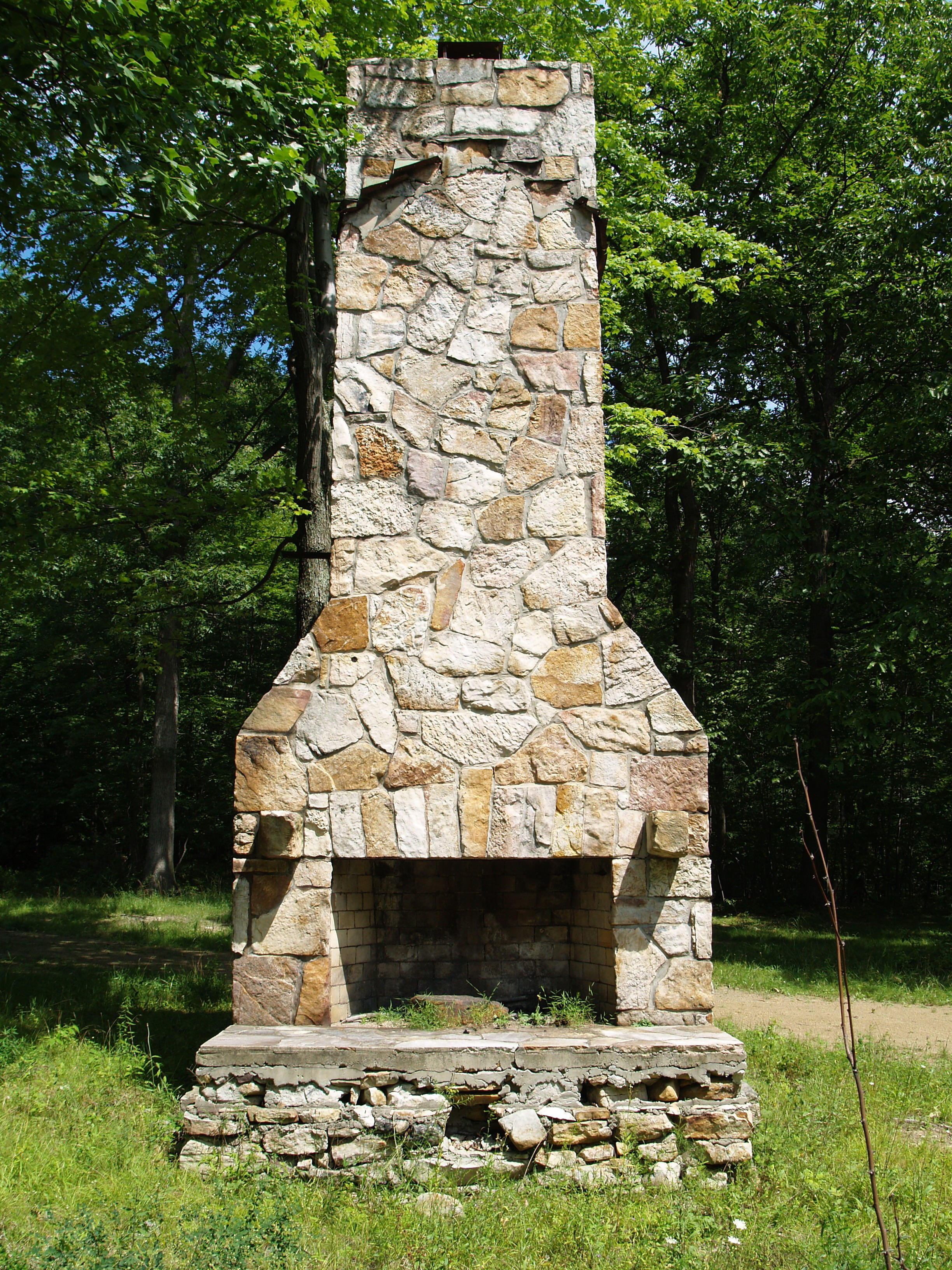 Stone Chimney 2 By Dracoart Stock On Deviantart