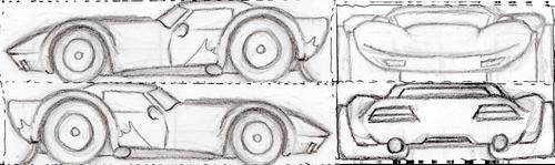 Car006 (stylized nightshift model reference) by NerdBurger65