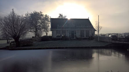 Dutch late winter morning