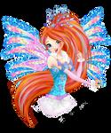 Winx Club 8 - Bloom Crystal Sirenix HALF BODY