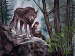 Arya and Nymeria