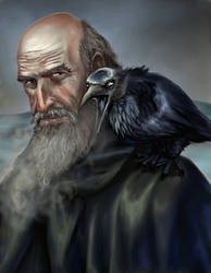 Mormont and his Raven
