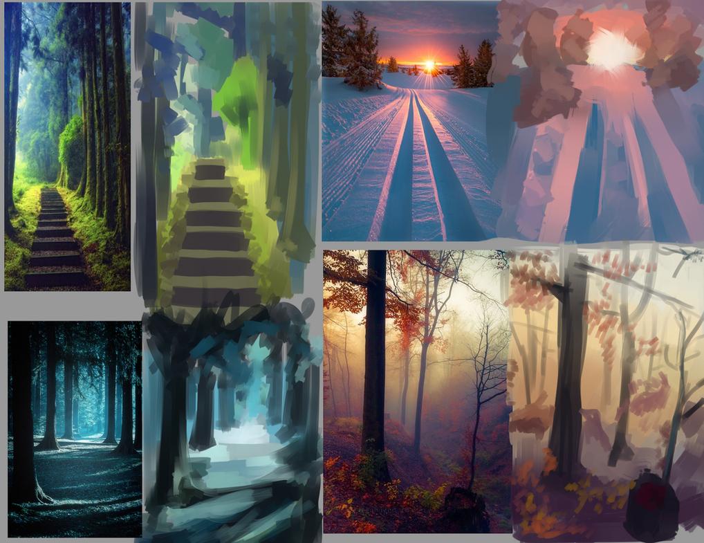 Background Studies by nocturnalhallucino