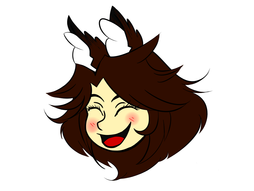 Laughing Randa Head by randadawn