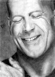 Bruce Willis by Krissi001