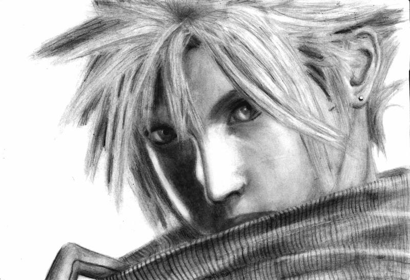 Cloud Strife by Krissi001