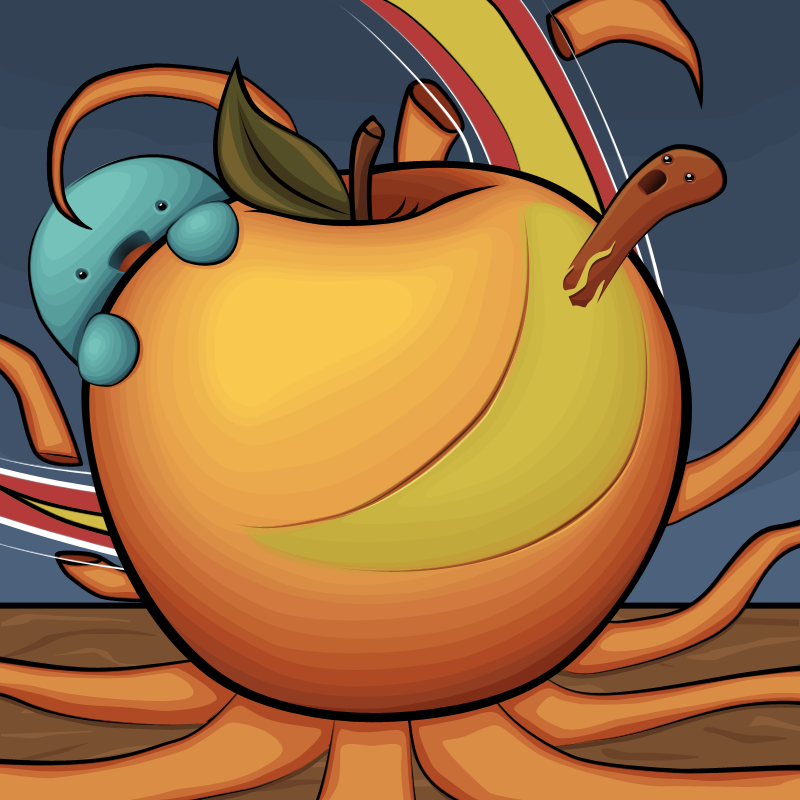 Apple Alien by Krissi001