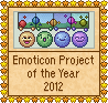 Emoticon Project of the year  - 2012 by Krissi001