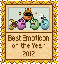 Best Emoticon of the year - 2012 by Krissi001