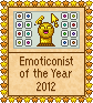Emoticonist of the Year - 2012 by Krissi001