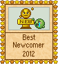 Best Newcomer  - 2012 by Krissi001
