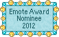 Emote Award Nominee - 2012 by Krissi001