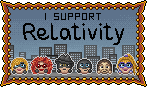Relativity stamp by Krissi001